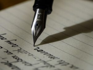 Ontslagbrief geschreven of getypt