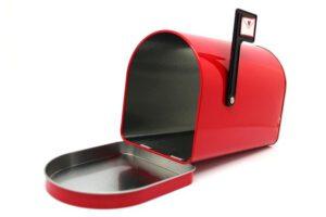 ontslagbrief per post